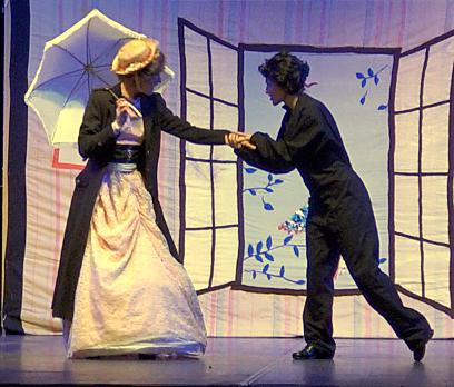 Mary Poppins et le ramoneur