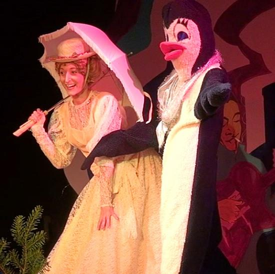 Mary Poppins et le pingouin